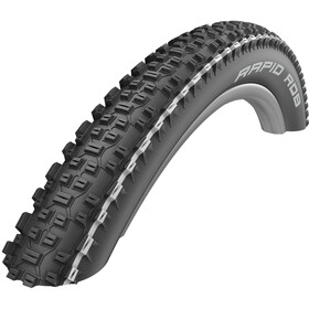 "SCHWALBE Rapid Rob Active Wired-on Tire KevlarGuard SBC 26x2.25"" black/white"